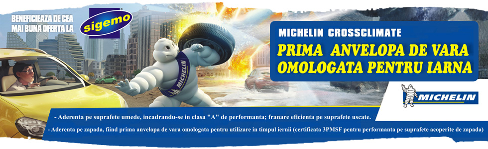 Oferta Michelin Cross Climate